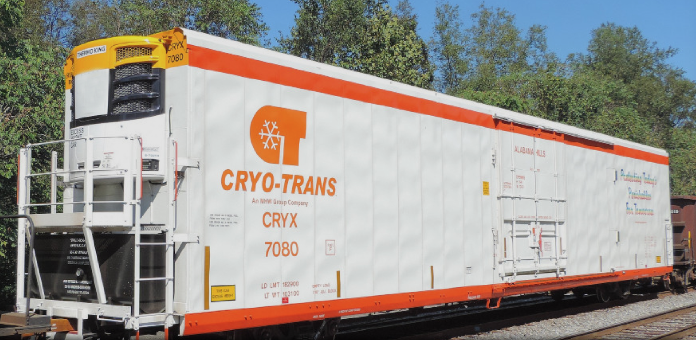 cryotrans train car