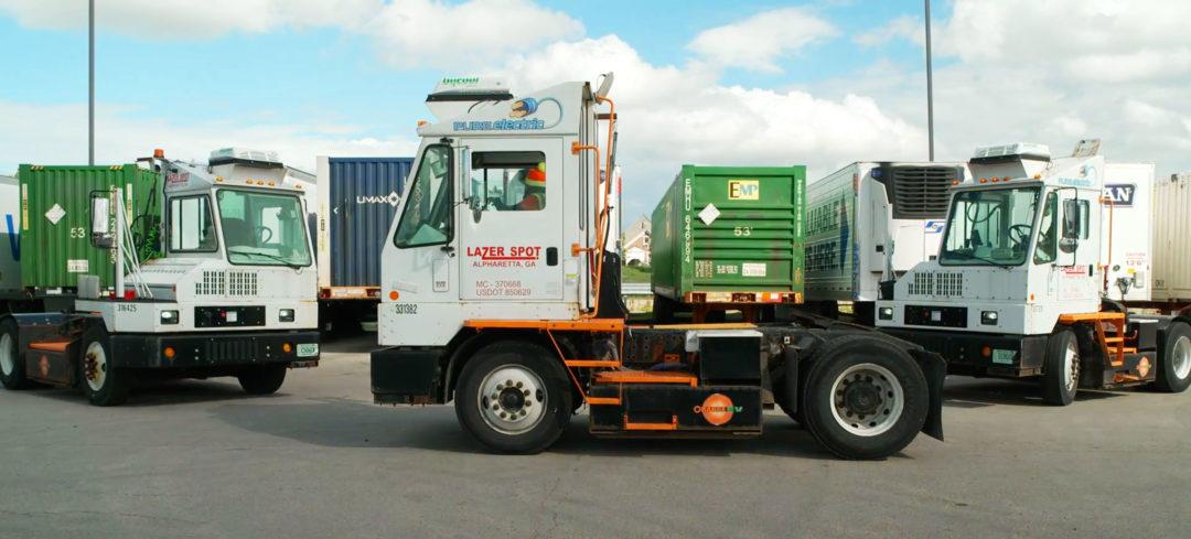pinc lazer spot yard trucks
