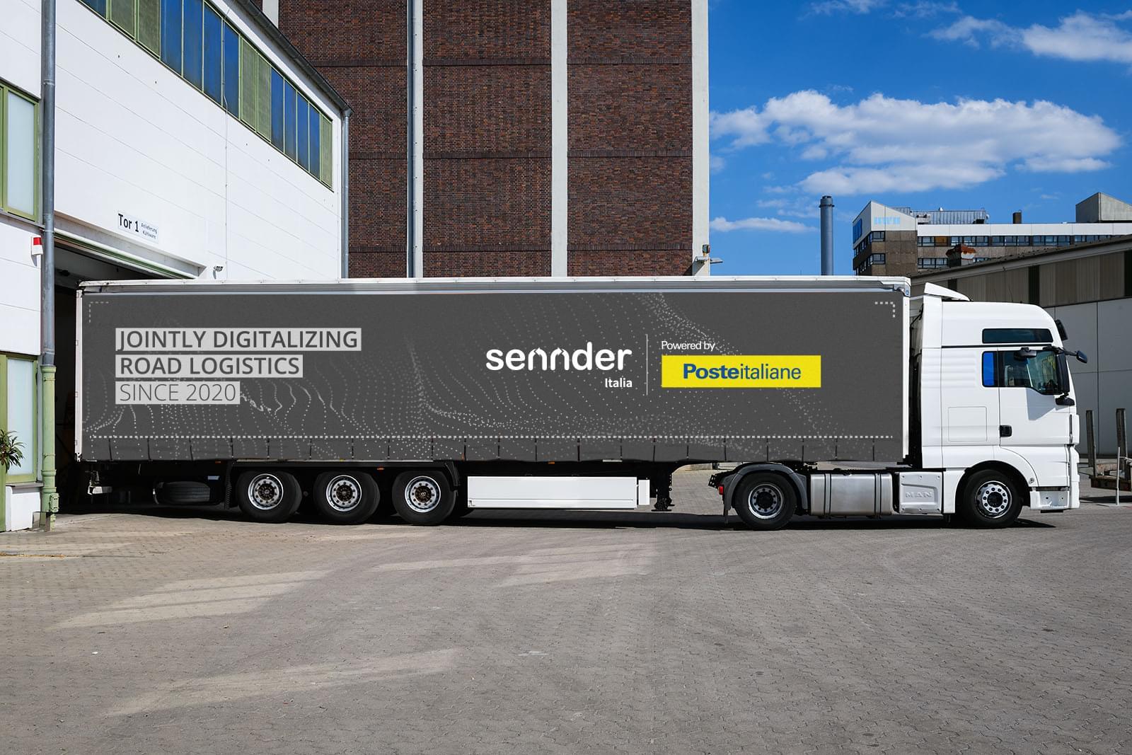 Sennder posteitaliane sennder truck