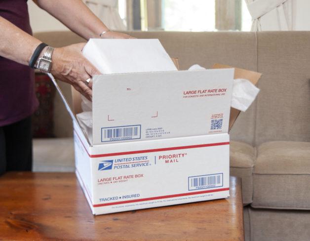 postal parcel USPS