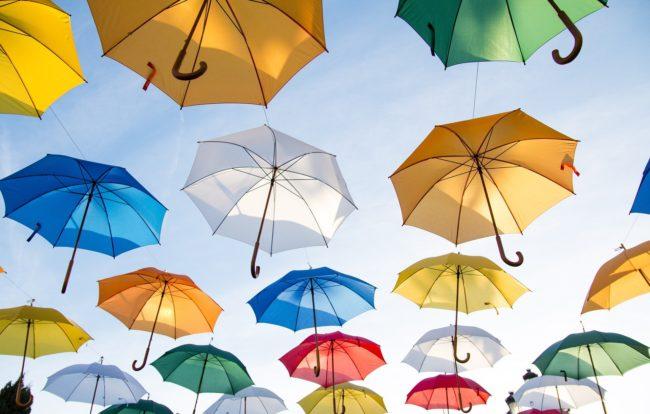 umbrellas for rainmakers