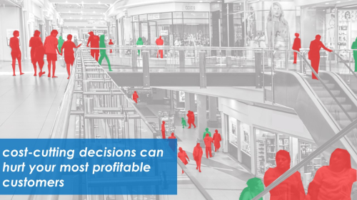 Cost-cutting decisions can hurt your most valuable customers