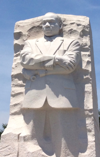 Sculpture of Martin Luther King Jr.