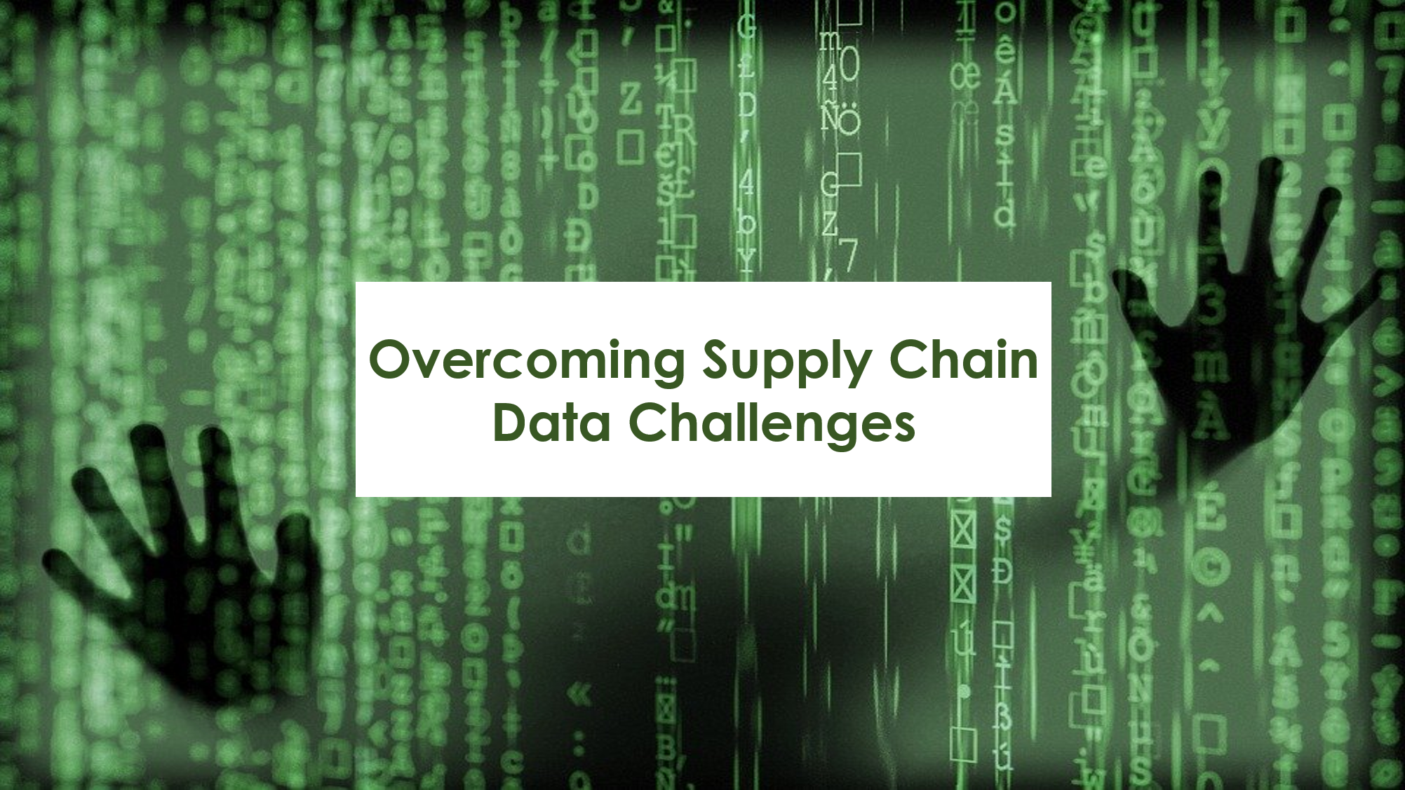 overcoming data challenges