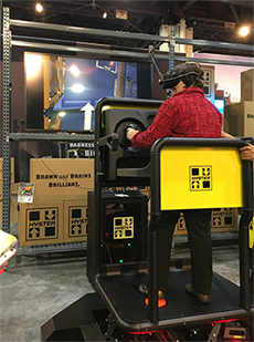 Hyster robotic lift truck