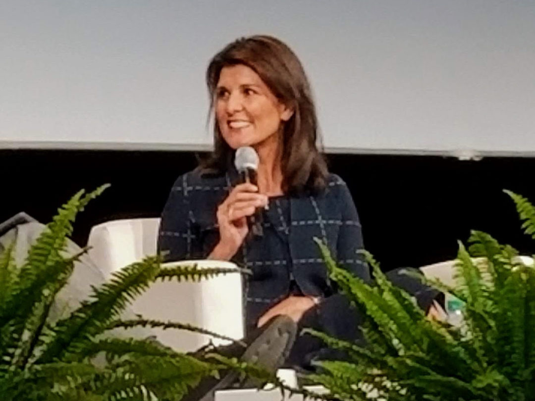 Nikki Haley at Modex