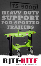 Heavy Duty Support for Spotted Trailers