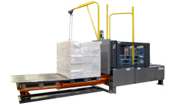 Columbia Machine Load Transfer Station with Pallet Cart