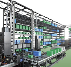 Fx Quad Mini Load Automated Storage And Retrieval System