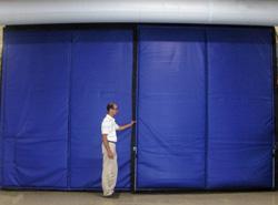 Blast Freezer Curtain Wall