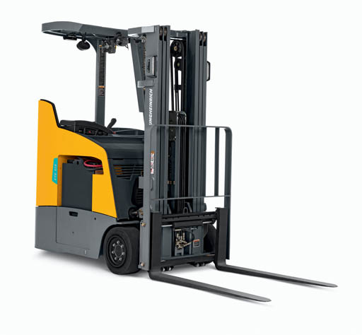 MCFA ANNOUNCES THE NEW JUNGHEINRICH® ETG 214-318 ELECTRIC STAND-UP COUNTERBALANCED LIFT TRUCK SERIES