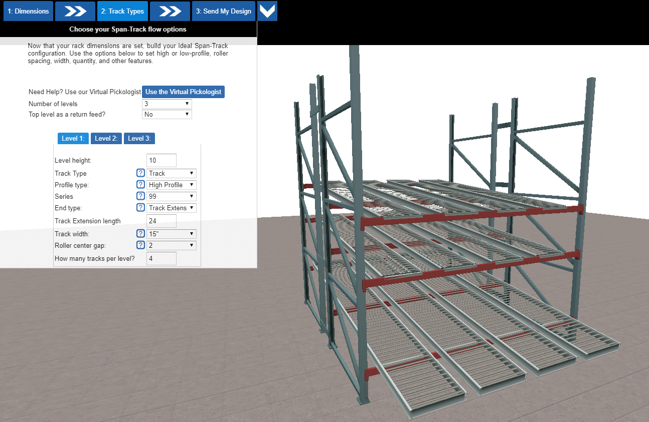 UNEX Manufacturing Introduces Online Configurator to Speed Custom Designs for Material Handling