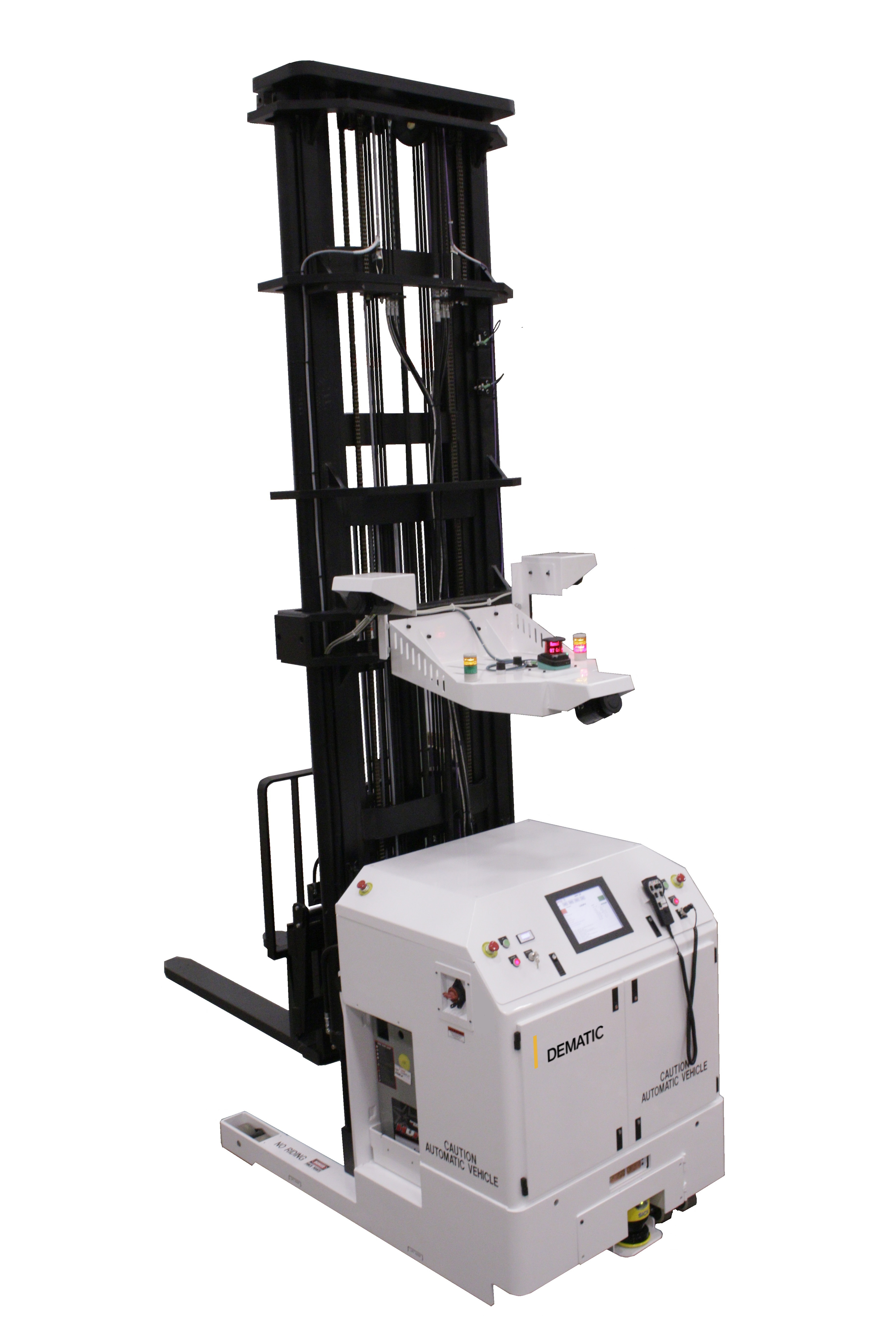 DEMATIC INTRODUCES FREEZER-RATED NARROW AISLE REACH AUTOMATED GUIDED VEHICLE (AGV)