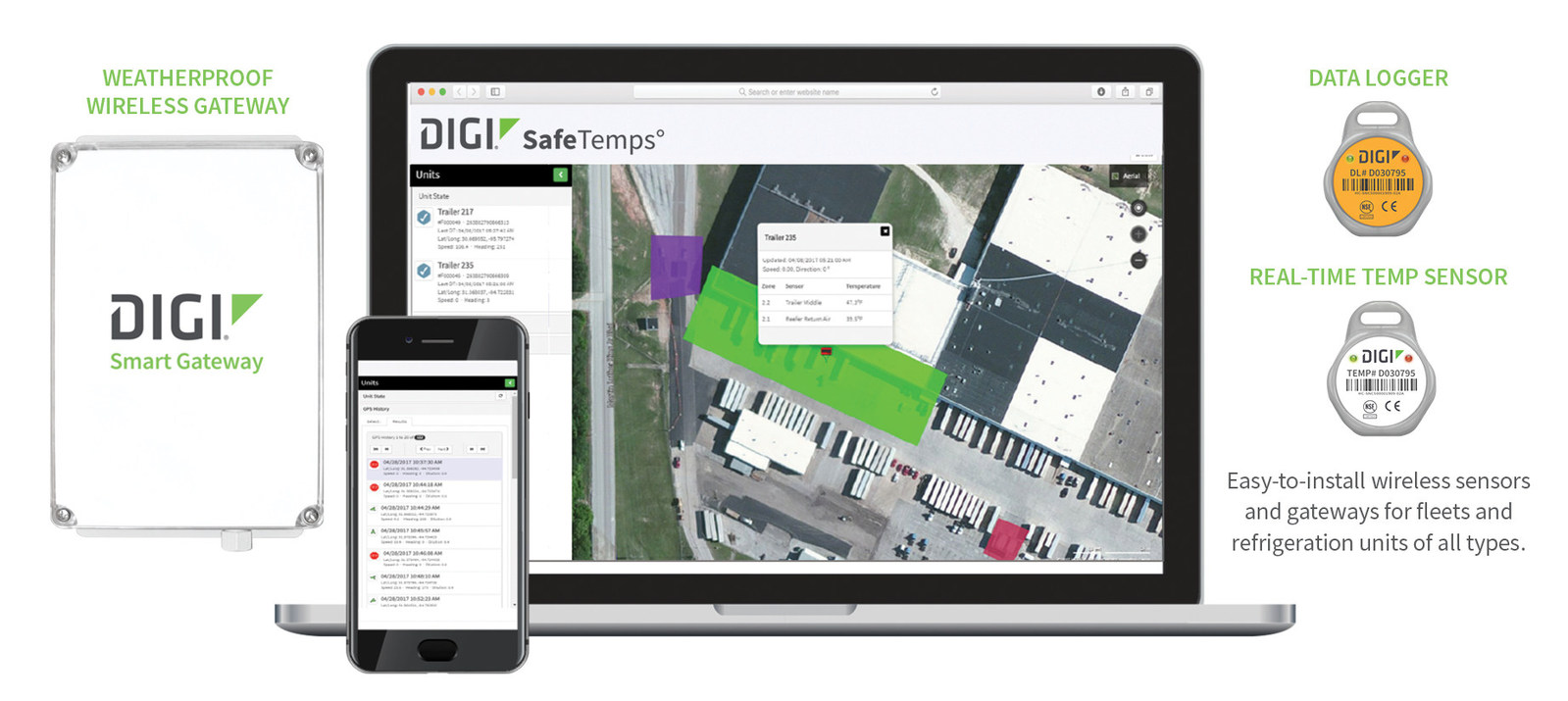 Digi Introduces Patented Data Logger As Part of SafeTemps Solution for Transporting Perishable Goods