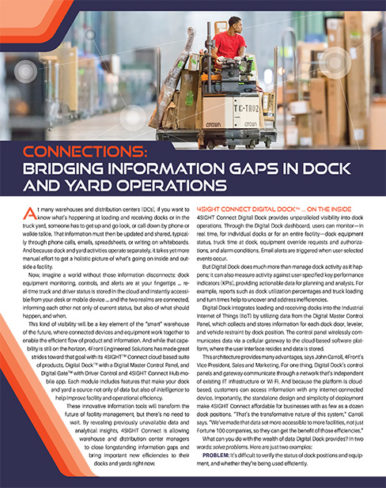 4SIGHT: Bridging Information Gaps in Dock and Yard Operations