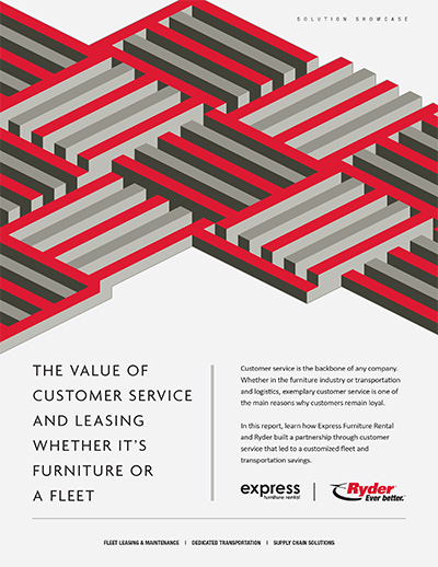 Ryder express furniture solution showcase cover