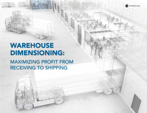 Cubiscan: Warehouse Dimensioning: Maximizing Profit From Receiving to Shipping