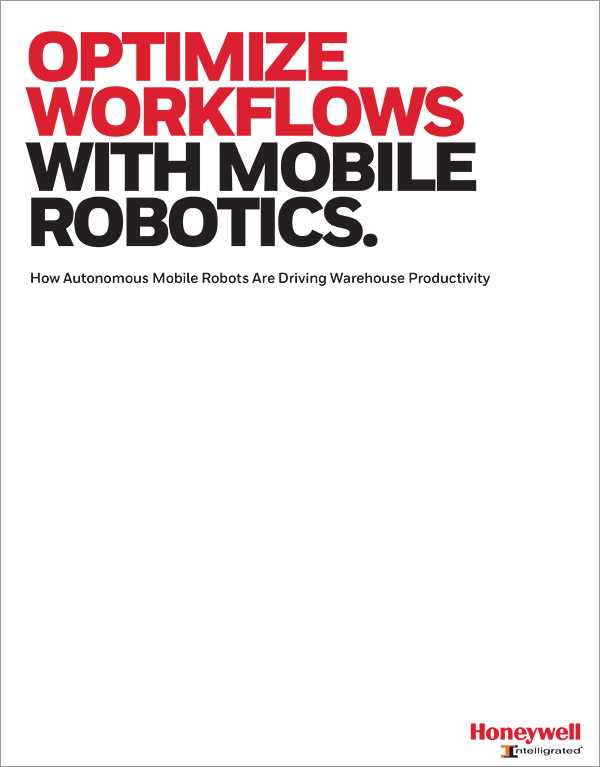 Honeywell optimize workflows with mobile robotics cover