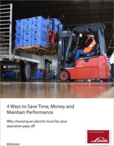 Linde 4 ways to save time money cover
