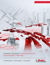Ryder finding the right transportation management partner cover