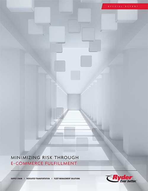 Ryder minimizing risk e commerce fulfillment network design cover
