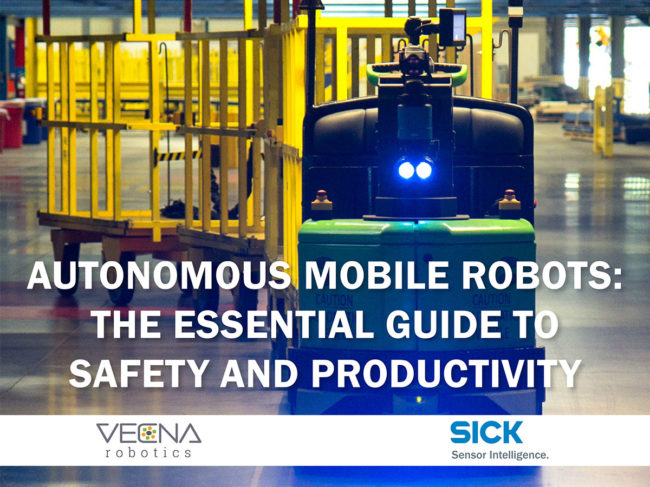 SICK: How AMRs improve safety and productivity in manufacturing