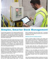 Systems llc simpler smarter dock management cover