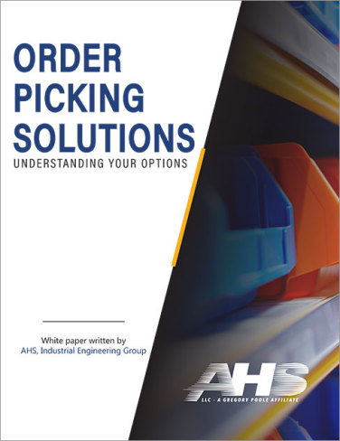 Ahs order picking solutions cover