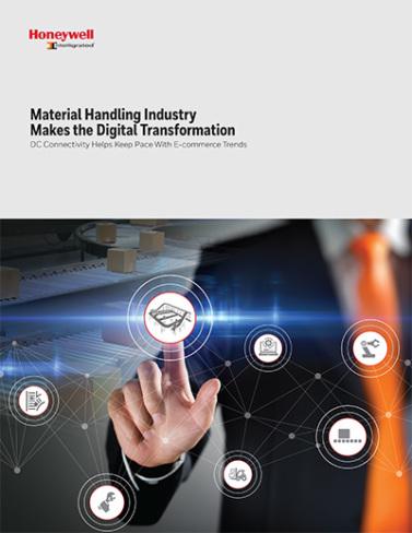 Intelligrated material handling digital transformation cover