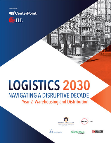 Logistics 2030 year 2 cover