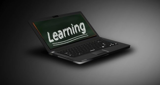 laptop image e-learning