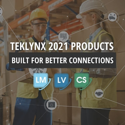 TEKLYNX International Launches 2021 Barcode Labeling Software Solutions Built for Better Connections