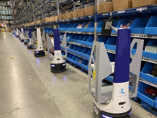 Locus Robotics Passes 200 Million Units Picked Milestone for Global Retail and 3PL Partners, B
