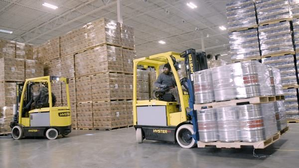 Hyster makes list of 100 Top Supply Chain Projects for work with New Belgium Brewing Company
