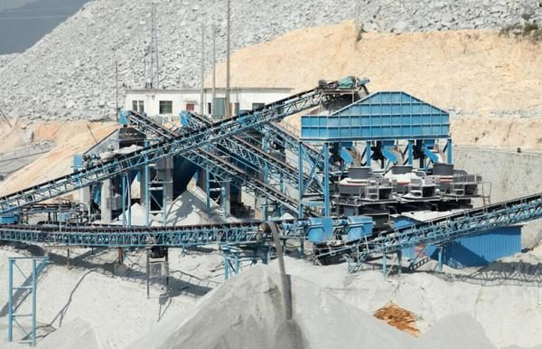 development of artificial sand industry