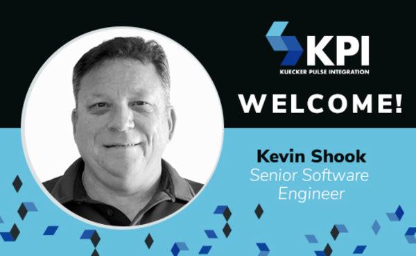 KPI WELCOMES KEVIN SHOOK,  SENIOR SOFTWARE ENGINEER