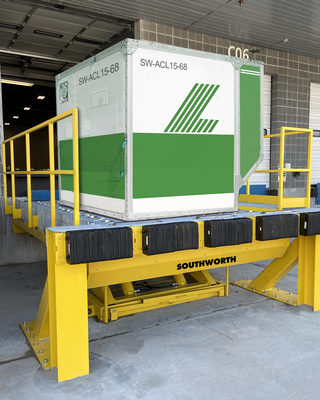Heavy-Duty Lifts for Air Cargo Containers and Unit Load Devices