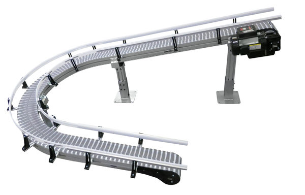 Gain Unlimited Configurations with the New FlexMove Helical Plain Bend Conveyors from Dorner