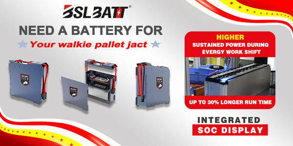 BSLBATT LIthium Launches Next Generation PALLET JACK Series Industrial Lithium Batteries for End Rid