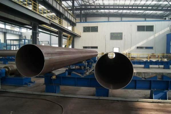 Forming Method of Large Diameter Straight Seam Welded Pipe
