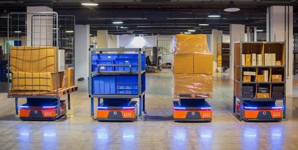 GreyOrange upgrades its warehouse automation system to enable movement of heavy items