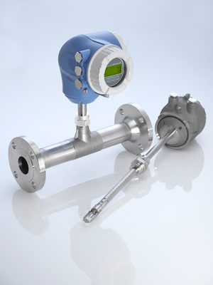 Endress+Hauser launches new generation of thermal mass flowmeters