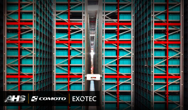 AHS to Accelerate Comoto Holdings' Fulfillment Process with Exotec Skypod System