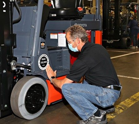 Toyota Material Handling Surpasses New Milestone: 750,000 Forklifts Manufactured in North America