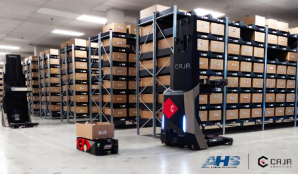 AHS Partners with Caja Robotics to bring Robotic Fulfillment to a Major Distribution Facility