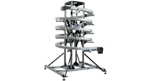 D-Tools Accessibility and Shorter Lead Times Make Dorner's FlexMove® Helix Conveyors More Responsive