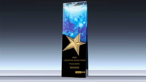 GEODIS Honored with Lenovo Logistics Excellence Award for Service in the Americas