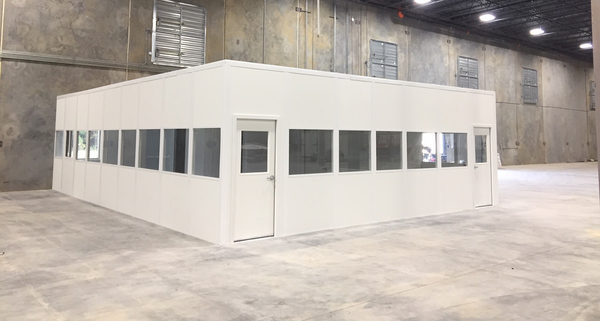 Panel Built Modular Offices Help Create Separate Office Spaces