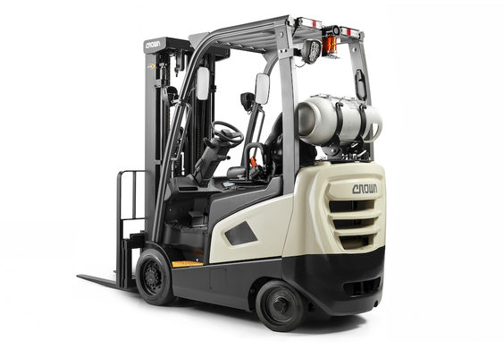 Crown Equipment Launches Small Footprint Lift Truck That's Big on Operator Comfort