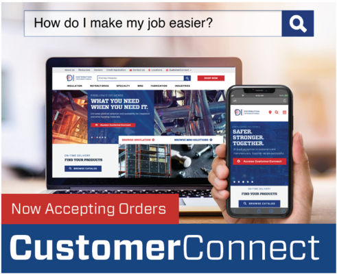 Distribution International Debuts Online Ordering with CustomerConnect e-Commerce Platform